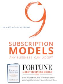Small business revenue stream models