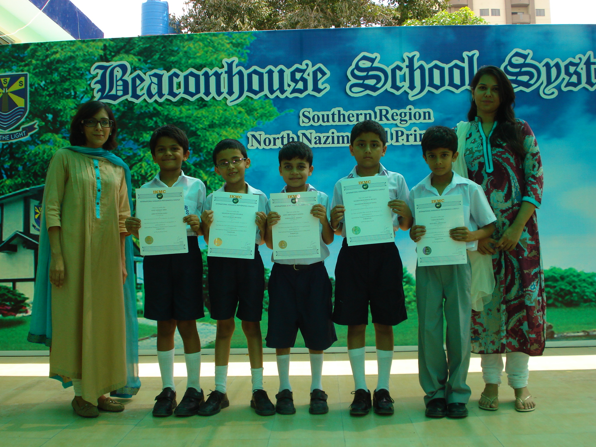 International Kangaroo Math Contest Beaconhouse North Nazimabad Primary