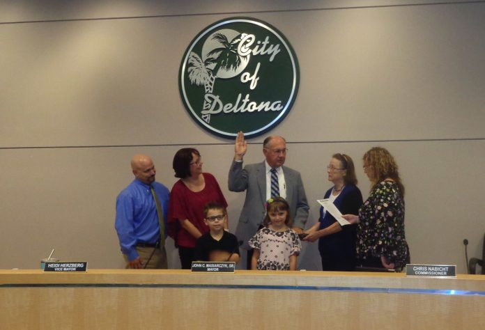 Longtime Deltonan picked to fill City Commission vacancy