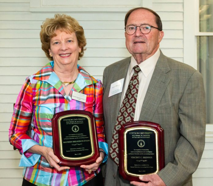 Two enter Stetson's Accounting Hall of Fame