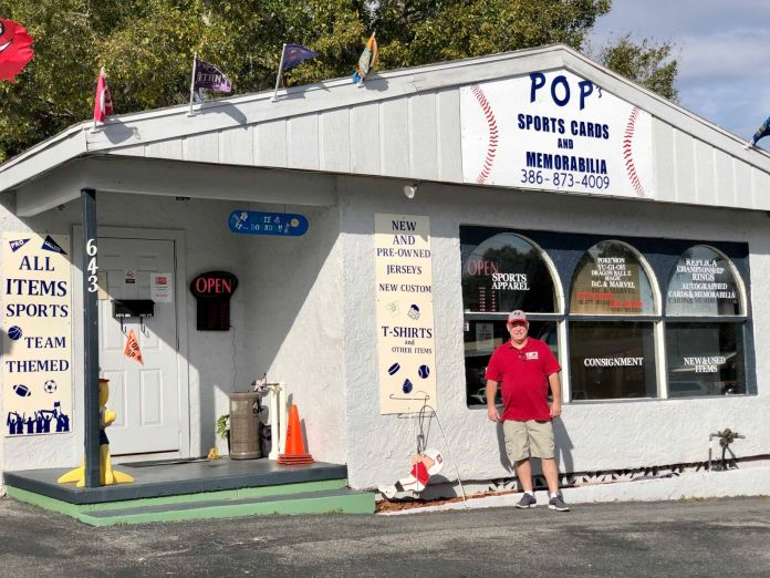 Find all things sports at Pop's Sports Cards and Memorabilia