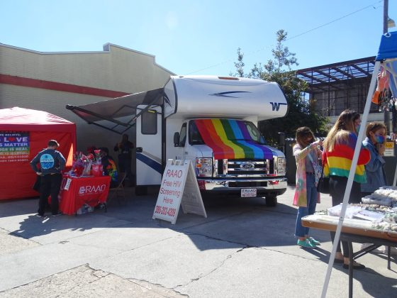 <p><p>Rising Against All Odds, a local nonprofit organization focused on HIV and AIDS testing, is decked out for the occasion</p></p><p></p>