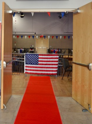 <p><p><strong>RED-CARPET WELCOME</strong>— A literal red carpet showed the honored heroes and visitors the way into the main room at the Gateway Center for the Arts in DeBary.</p></p><p>PHOTO COURTESY GATEWAY CENTER FOR THE ARTS</p>