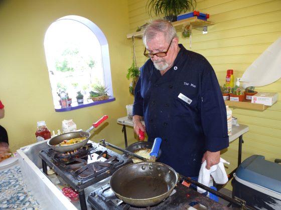 <p><p>Chef Vince Downey cooks up brunch</p></p><p></p>