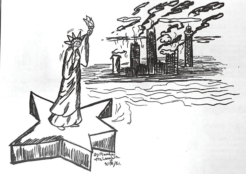 Marsha's 9/11 cartoon