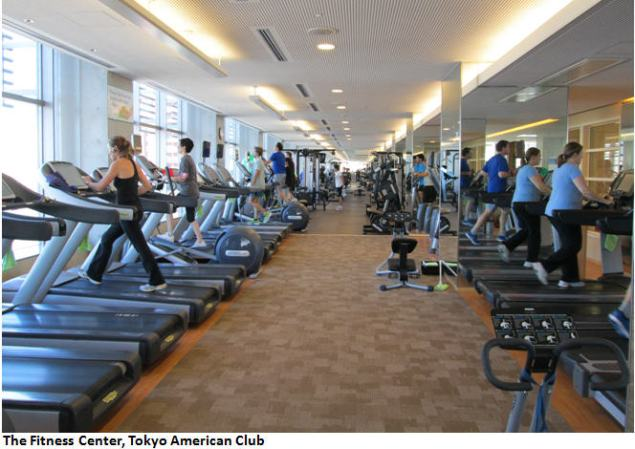 Tokyo American Club Fitness Center