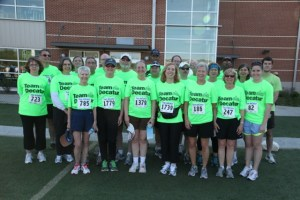 Team Decatur Members After the Race