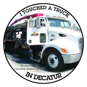 Touch A Truck and Get a Sticker!!