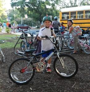 boy biker