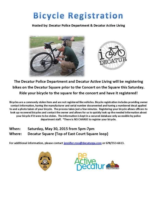 Concert on the Square Bike Registration 053015