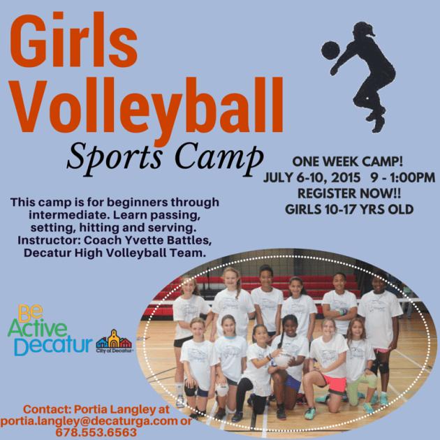 Girls Volleyball Camp
