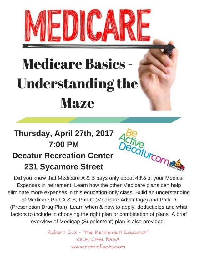 Medicare Basics -Understanding the Maze