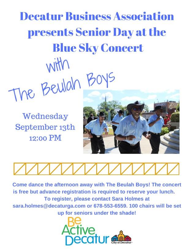Blue Sky Concert withThe Beulah Boys (5)