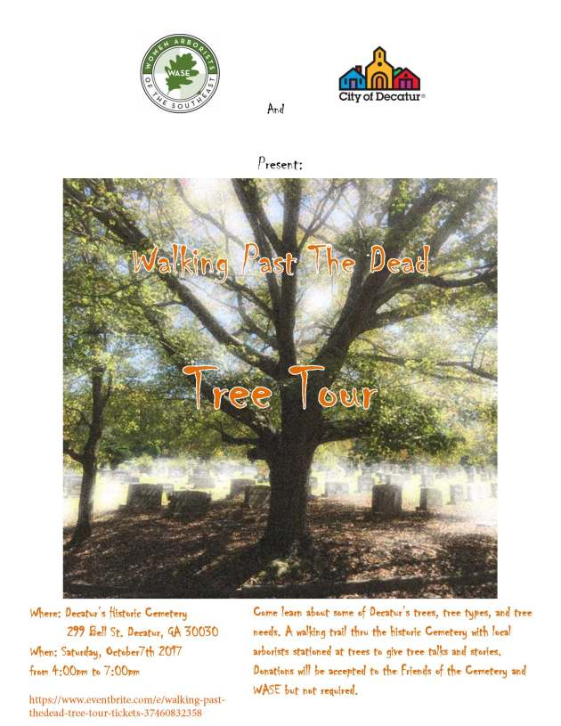 Final Flyer WASE tree tour