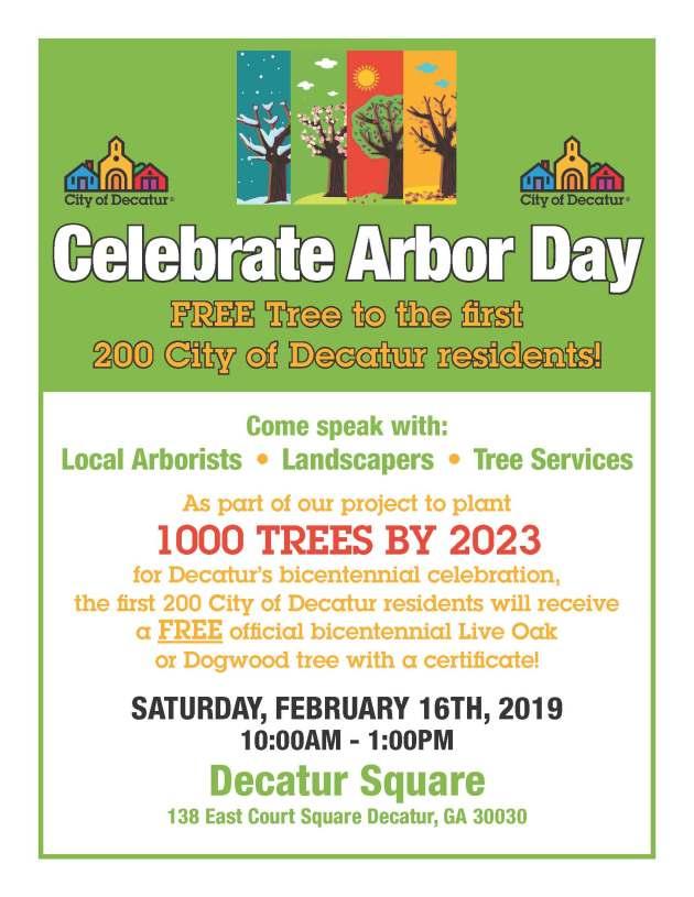 arbor day flyer 2019