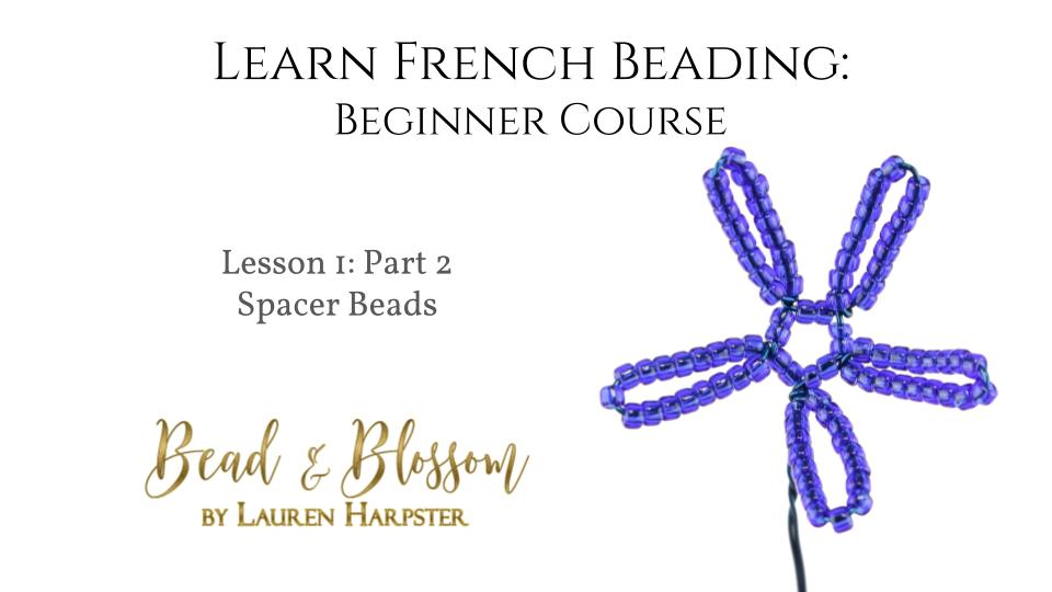 French beading technique tutorial