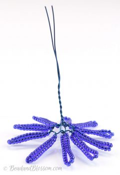 French beading tutorial continuous loops