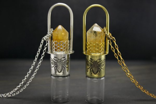 essential oil rollerball necklaces