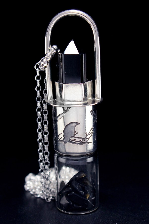 Raven Rollerball Necklace