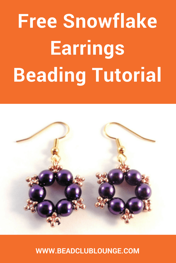 Beaded Earring Patterns For Beginners Cool Decoration