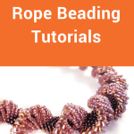 Here's a list of beaded spiral rope projects that includes free patterns and tutorials you can use to create beautiful jewelry.