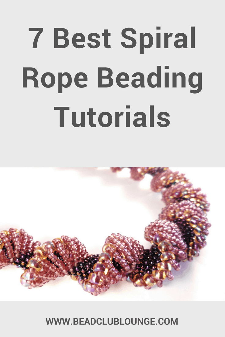 Beaded spiral rope projects may take a bit longer to make but they're so worth it! Here's a list of seven free patterns and tutorials.