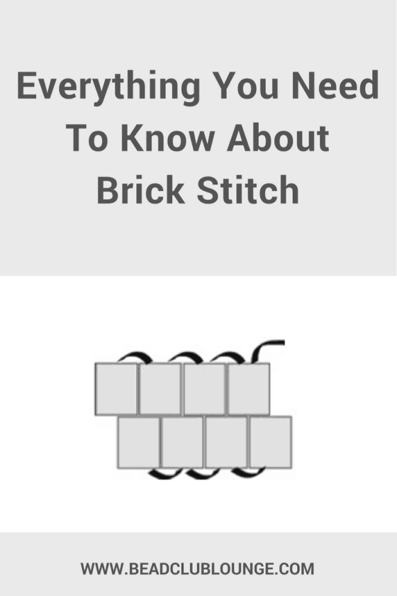 Learn how to make your own beaded bracelets, necklaces and even charms using Brick Stitch. Click here for a basic tutorial as well as a list of patterns. #brickstitch #beading #beaded #beadwork