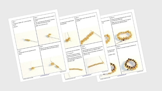Gifts for Jewelry Makers - Beading Patterns by The Bead Club Lounge