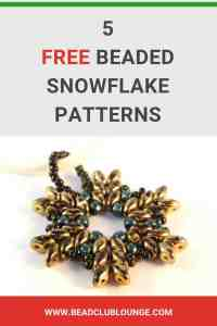 Here are some fun beaded snowflake patterns just in time for the holidays. Use these beautiful snowflake projects to create jewelry for yourself, to give as gifts or even as Christmas ornaments you can hang your your tree. All of the jewelry making tutorials are YouTube videos so you can see step-by-step exactly what you need to do to turn these ideas into reality. #beads #beading #beadwork #jewelrymaking #jewelrytutorial #christmas