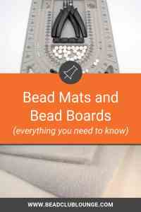 What's the difference between a bead mat and a bead board? Learn everything you need to know about bead mats and bead boards including where you can find handmade ones on Etsy or even how to create a DIY version for jewelry making. #beading #beadwork #jewelrymaking #beadweaving