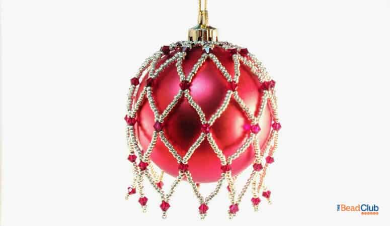 How To Make This Elegant Beaded Ornament Cover Pattern