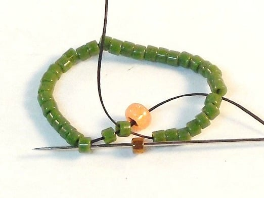 How To Make An Open Back Bezel - Easy Jewelry Tutorial - Step 2