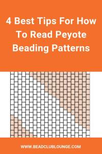 Learn simple tips and tricks for reading peyote beading patterns even when you don't have a word chart or other instructions. #beading #peyotestitch #tbcl