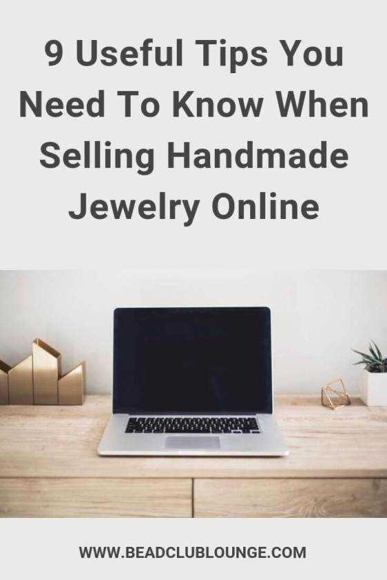 Selling handmade jewelry online? Here are some insanely useful tips to help you get started on the right foot and increase your sales. #handmadejewelry #onlinebusiness #tbcl