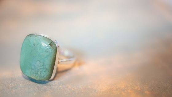 Gemstone Ring - When using gemstone beads for jewelry-making, consider the hardness of the stone.