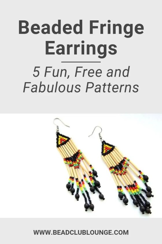 Use these videos as inspiration to create your own DIY beaded fringe earrings. The tutorials include various styles such as Native American, tassel earrings and seed bead earrings. Each pattern is unique and fun. Try one or make them all. #fringeearrings #beading #tbcl