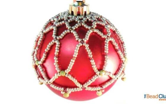 How To Make A Beautiful Beaded Ornament Cover