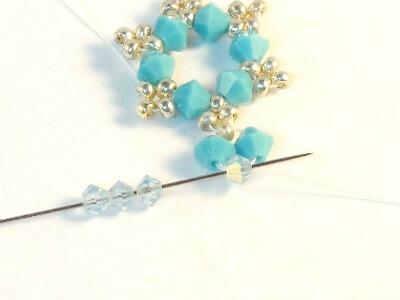 Snowflake ornament - Step 7
