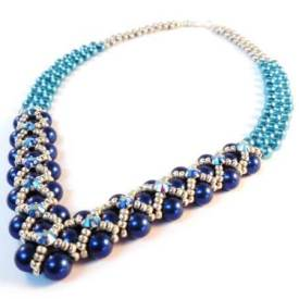 How To Make A Beaded Necklace – Stunning Right Angle Weave Tutorial