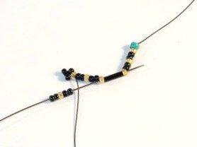 Step 4 - Brilliant Bugle Bracelet Tutorial