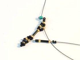 Step 7 - Brilliant Bugle Bracelet pattern