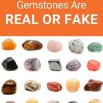rows of natural gemstones