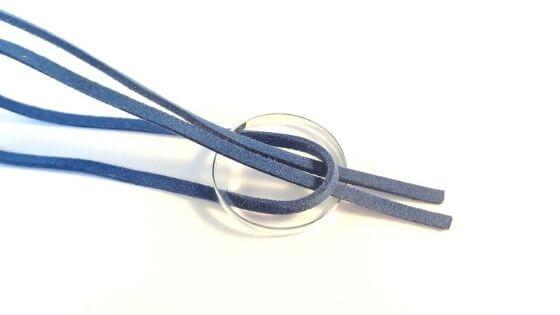 How to tie a lark's head knot a.k.a cow hitch knot - step 3