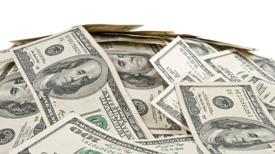Pile of US money