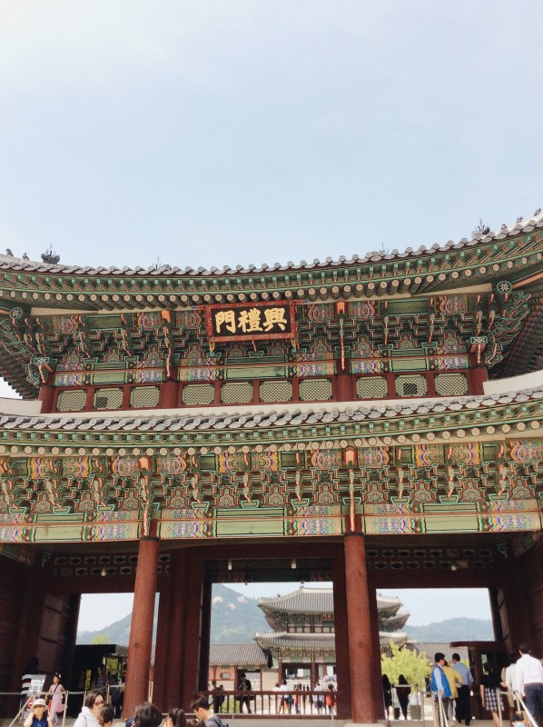 The second inner gate of Gyeongbokgung Palace