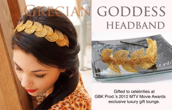 TUTORIAL- Grecian Goddess headband pattern and tutorial