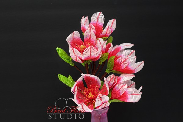 French beaded pink magnolia pdf automatic download