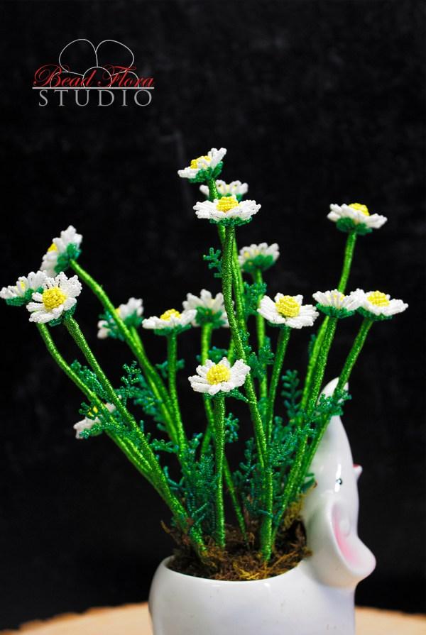 French beaded chamomile PDF