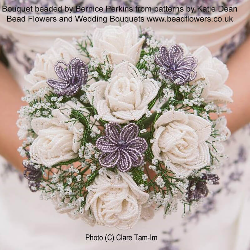 Bead Flowers and Wedding Bouquets ebook ~ by Katie Dean