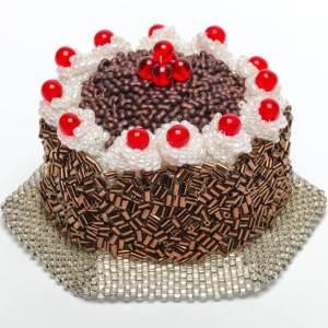 Chocolate Gateau Bead Kit